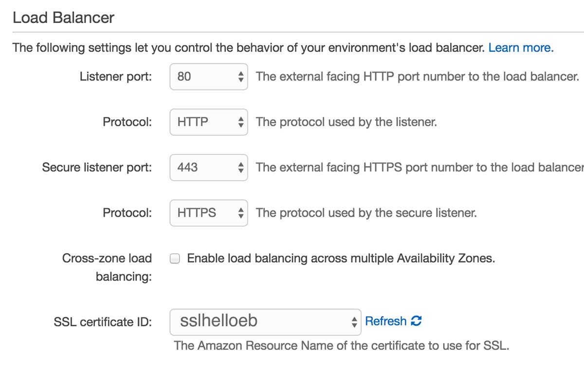 How to configure SSL for AWS Elastic Beanstalk | AWS Elastic